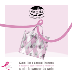 Kusmi Tea s'engage pour Octobre Rose