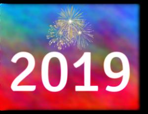 Bonne année 2019 ! C'est l'heure des bonnes résolutions !